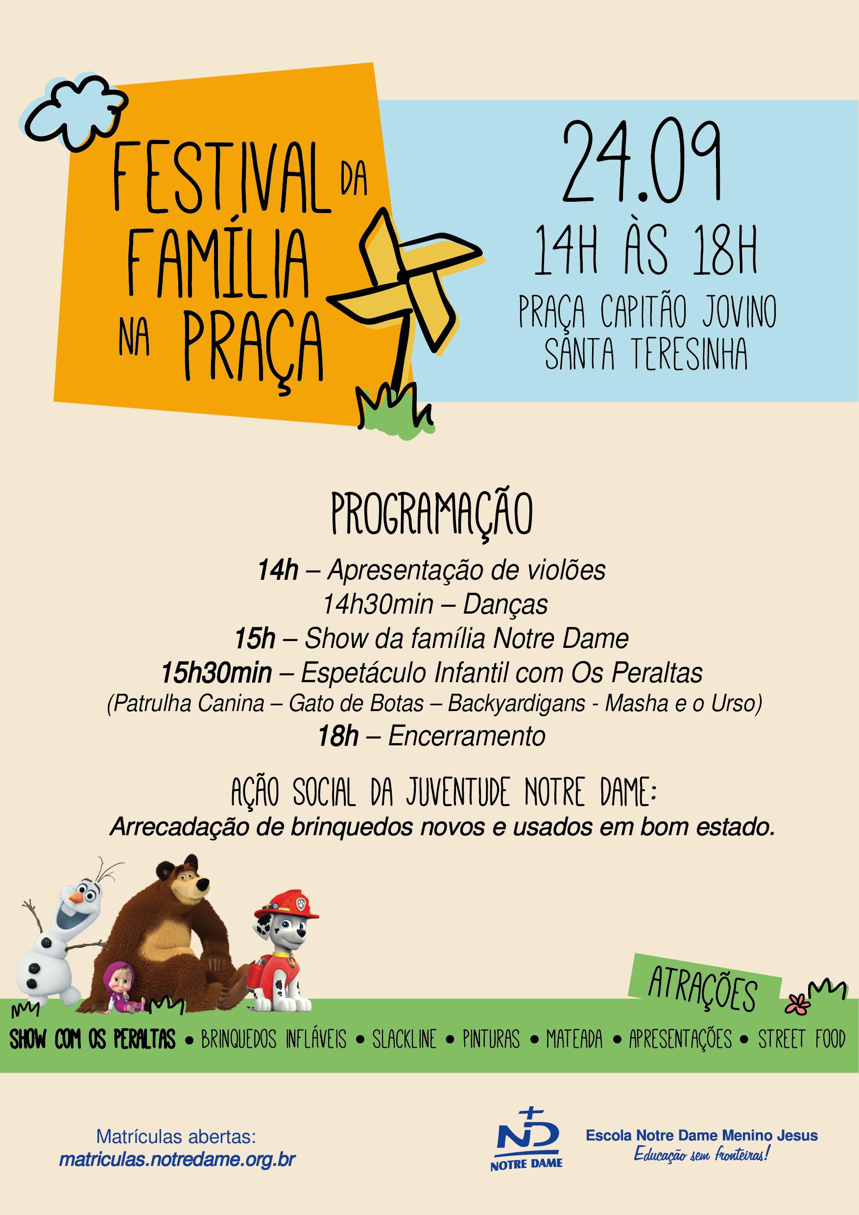 Festival da Família na Praça